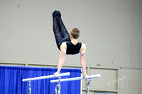 Bart Conner Invitational 2-16-13 Oklahoma Gold Parallel Bars