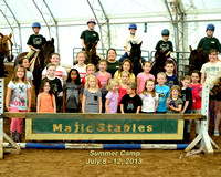 Majic Stables Summer Camp 7- 8-12, 2013