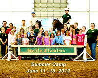 Majic Stables Summer Camp June 11-15, 2012