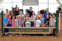 Majic Stables Camp July 24 - 28, 2017
