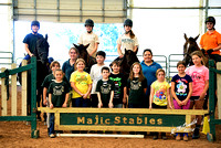 Majic Stables Summer Camp July 21 - 25,2014